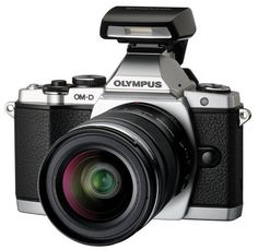 Newest Olympus camera has a cool retro vibe.