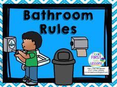 School Bathroom Rules clip art for school bathroom rules - bing images   classroom