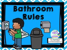 Elementary School Bathrooms Clipart