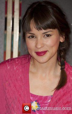 Rachel Khoo, hot pink lipstick