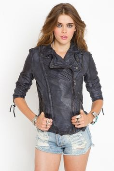 Caiyun is an outgoing girl  She has a good sense of humor and     carbon leather jacket