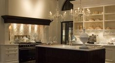 For some reason I really love this kitchen, so unique and feels antique...