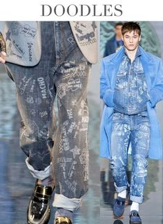 Denim Trends Fall/Winter 2014/2015 by Trend Council