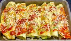 Naleśniki - Blog z apetytem Mozzarella, Quiche, Zucchini, Vegetables, Breakfast, Blog, Morning Coffee, Quiches, Vegetable Recipes