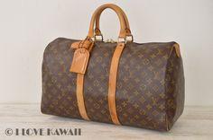 Louis Vuitton Monogram Keepall 45 Travel Bag M41428
