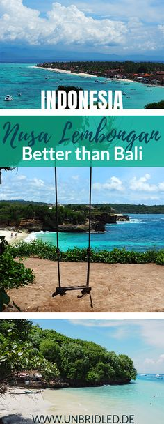 ? Nusa Lembongan has fewer people, better beaches, greater snorkeling sites, and it is right next to Bali, Indonesia