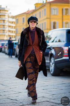 Milan Men's Fashion Week FW 2016 Street Style: Ana Gimeno Brugada