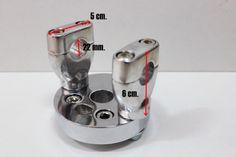 Custom Honda Street cub c50 c70 c90 billet handlebar conversion kit
