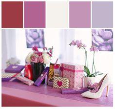 Entertaining | Valentine's Day Ladies Only #stylyze #radiantorchid
