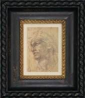 Head of Adam.  From: Studio Artique