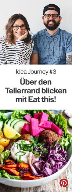 Das Thema unserer Idea Journey im Monat März lautet 'Über den Tellerrand blicken'! Macht alle wieder fleißig mit und brecht aus eurer Ernährungsroutine aus!