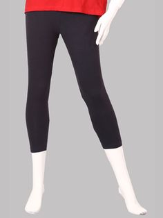 Twin Birds Charcoal Grey Woman 3/4 Leggings