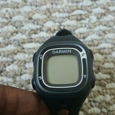 *firm* Garmin Forerunner 10 Fitness Watch/tracker Say hello to your new fitness friend! This watch is brand new and never used, but the box is missing because it was plastic. Measures your distance, speed, pace, and calories. Has an Auto Pause, Auto Lap, Virtual Pacer feature. And it tracks your personal records! Comes with a charger to plug to your computer as well. Grab this essential today!   FINAL PRICE!!  Its a brand new tracker and the price is already slashed. garmin Accessories…