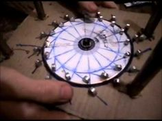 MOTOR MAGNETICO, Intento 1 - MAGNETIC MOTOR, Attempt 1 - YouTube