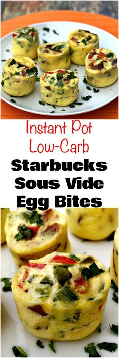 Instant Pot Low-Carb Starbucks Sous Vide Bacon Egg Bites is a quick and easy, protein, keto pressure cooker recipe with eggs, egg whites, and bacon. Healthy Breakfast Bowl, Egg Recipes For Breakfast, Quick And Easy Breakfast, Best Breakfast, Bacon Breakfast, Protein Breakfast, Keto Recipes With Bacon, Healthy Recipes, Low Carb Recipes