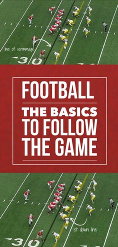 Great basics to follow and ENJOY the game of football!