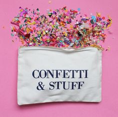 #brightlydecoratedlife tip: always carry confetti