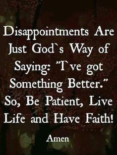God does not disappoint! Faith Quotes, Bible Quotes, Me Quotes, Bible Verses, Qoutes, Mommy Quotes, Great Quotes, Inspirational Quotes, Motivational