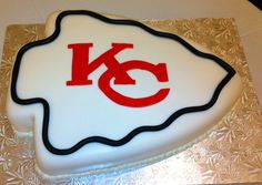 KC Chiefs Cake | Flickr - Photo Sharing!