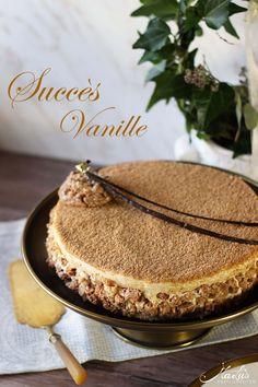 Vanille Mandelbaisertorte – Succès vanille – MaLu's Köstlichkeiten