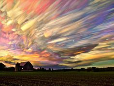 Amazing Time Lapse Photography of Smeared Sky  near Ontario https://www.facebook.com/BBBSeed