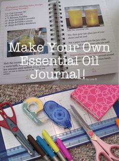 How to Journal Your Essential Oil Discoveries!