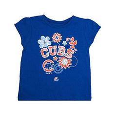 Get this Chicago Cubs Toddler Outfield T-Shirt at WrigleyvilleSports.com