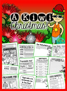 Green Grubs Garden Club: Best Kiwi Christmas Read Alouds! {+FREE Printable follow up activity sheets}