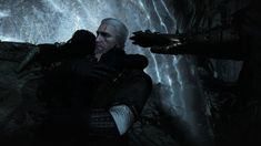 The Witcher 3 Wild Hunt , Geralt/Yen by LarvayneYuno