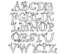 doodle alphabet – Etsy