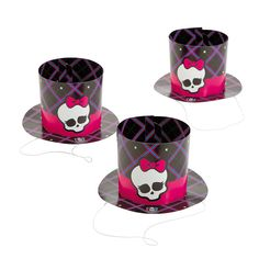 Monster High™ Party Top Hats - OrientalTrading.com