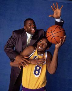 Magic and Kobe - LA Lakers www.reverbnation.com/mrslic404