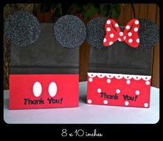 Bolsitas de Mickey Mouse Minnie Mouse Bolsitas para Dulces, Bolsitas de Recuerdo, Bolsitas de Cumpleaños
