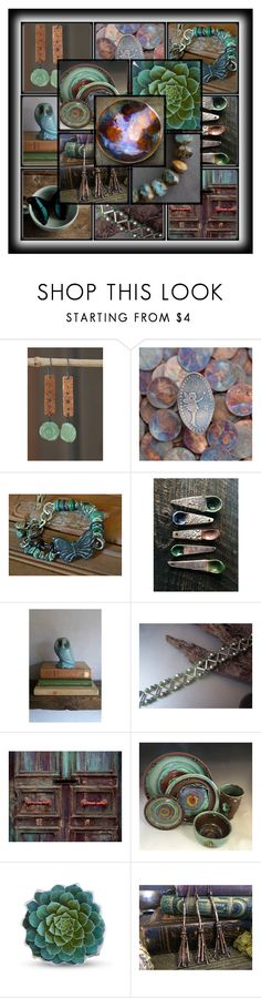 Copper and green by andreadawn1 on Polyvore featuring Urban Decay