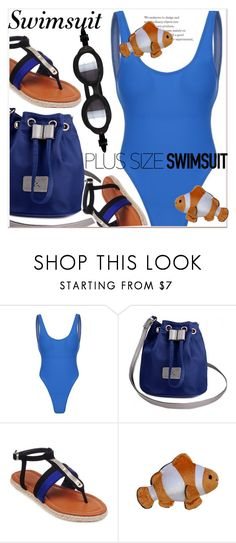 """""""Stylish Curves: Swimwear Edition 2"""" by paculi ❤ liked on Polyvore featuring stylishcurves and plussizeswimsuit"""