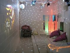 Sensory Rooms and I don't think you need to be autistic to get something out of it.