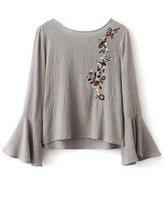 913dd3fd0409 70 mejores imágenes de blusas en 2019 | Blusas, Túnica y Vestirse