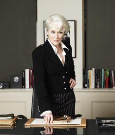 One of my favourite photos of Meryl Streep as Miranda Priestly in The Devil Wears Prada