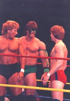 Lance Von Erich, Dingo Warrior and Mike Von Erich