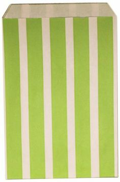 Dress My Cupcake 144-Pack Favor Bags, Apple Green Vertical Stripe by Dress My Cupcake. $59.67. Favor bags are perfect for weddings, birthdays, baby showers, candy buffets and more A great way to add flare to your event. Distributed by Dress My Cupcake, the world's largest dessert table supplies company. Pair this with other best-selling Dress My Cupcake products, such as cupcake wrappers and liners, stands, tissue pom poms, and vintage paper straws. Bags have a flat pinched ...