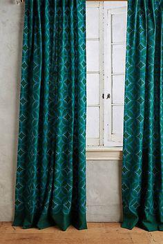 Concave Diamonds Curtain #anthrofave