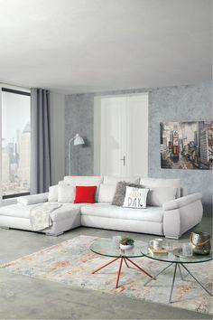 Bei diesem Modell liegt ihr nicht nur farblich voll im Trend, sondern auch was die Gemütlichkeit angeht. Jetzt entdecken auf leiner.at. // Wohnzimmer einrichten // Wohnzimmer Ideen // Interior Trends // Wohnideen // Einrichtungstipps Wohnzimmer // Couch // Polstergarnitur // Interior Tipps Sofa Couch, Sofas, Grey, Furniture, Trends, Motor, Home Decor, Inspiration, Products