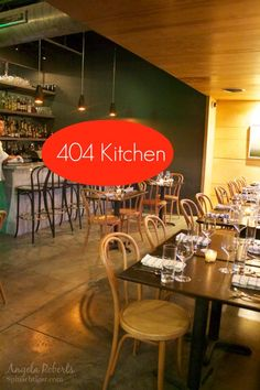 404 Kitchen & Hotel in Nashville from Angela Roberts. A new boutique restaurant in the Gulch. Very good.