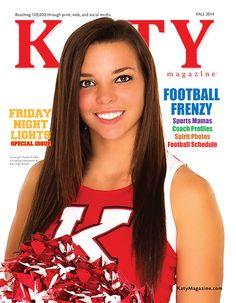 #MagazineCover #KatyTexas #KatyTX #MagazineDesign #KatyHighSchool #KatyTigers #Cheerleader