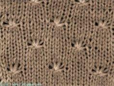 Little Curls - Knittingfool Stitch Detail - printer friendly version Crochet Girls, Crochet Yarn, Knitting Charts, Knitting Stitches, Crochet Stitches Patterns, Stitch Patterns, Crocheting Patterns, Stitch Book, Knitting Projects