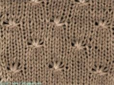 Little Curls - Knittingfool Stitch Detail