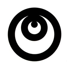 Yusaku Kamekura Logo 2 Design for the automobile model Corona. From Gebrauchsgraphik No. Circle Logo Design, Circle Logos, Badge Design, Logo Inspiration, Creative Inspiration, Kreis Logo Design, Graphic Prints, Graphic Design, Japan Logo