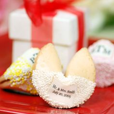 Personalized Fortune Cookies You can personalize the message too