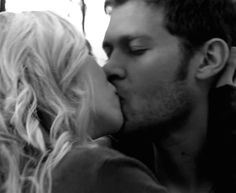 I'm not even sorry for pinning yet again another Klaroline's kiss pic!!!