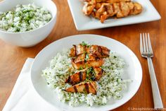 Grilled Honey Lime Chicken by Unsophisticook